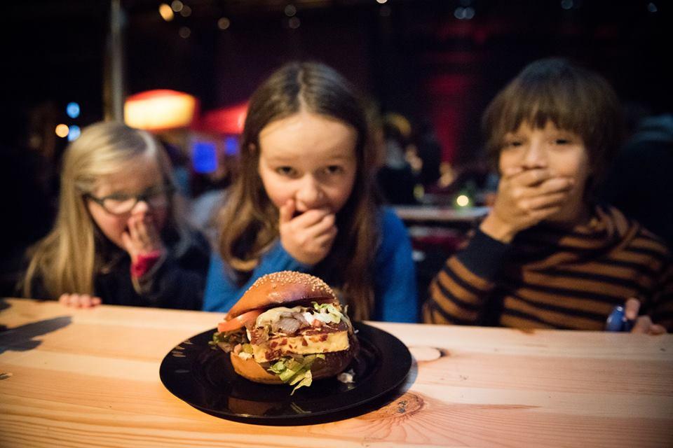 Buy Berloumi Burger, halloumi